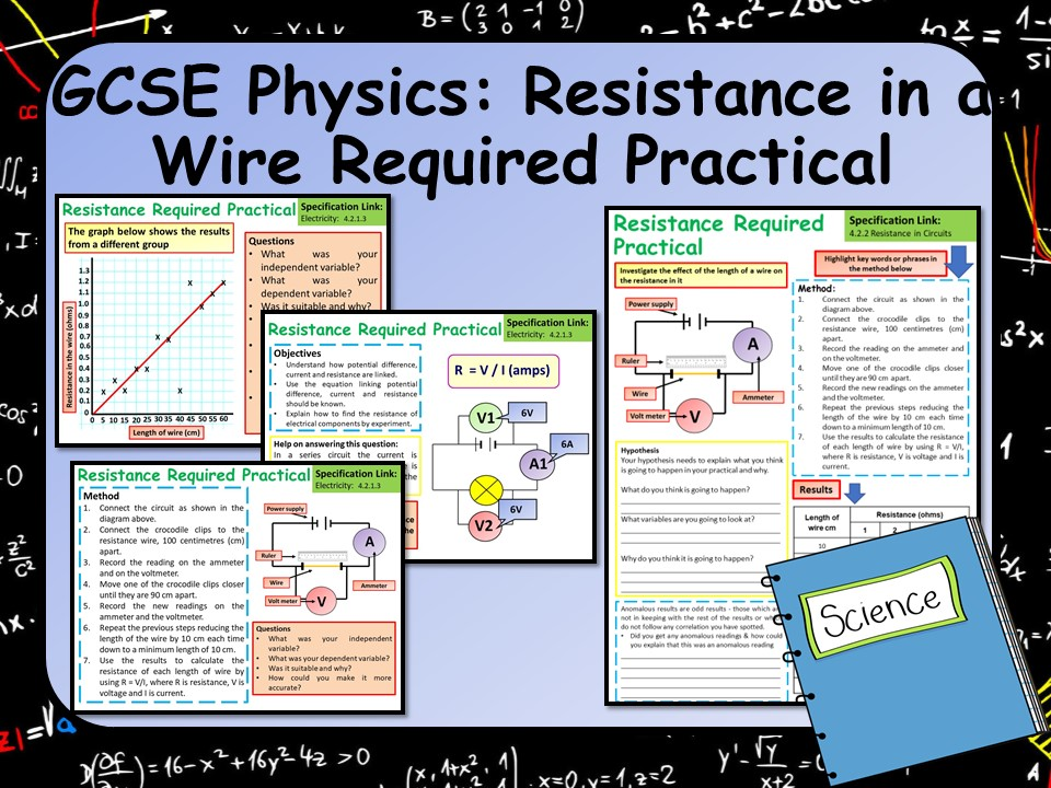 KS4 AQA GCSE Physics (Science) Resistance in a Wire Required Practical Lesson
