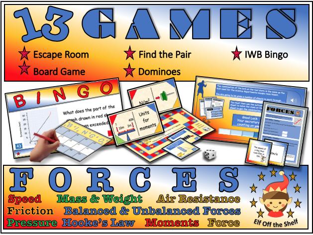 Forces - 13 Game Compendium