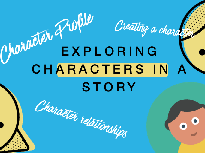 Analysis a Character in a book - Explore contrast between characters + relationships. Comp. KS2