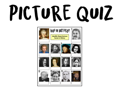 Quiz - History picture quiz