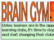 BRAIN GYM - IDEAS FOR MOTIVATION AND INSPIRATION