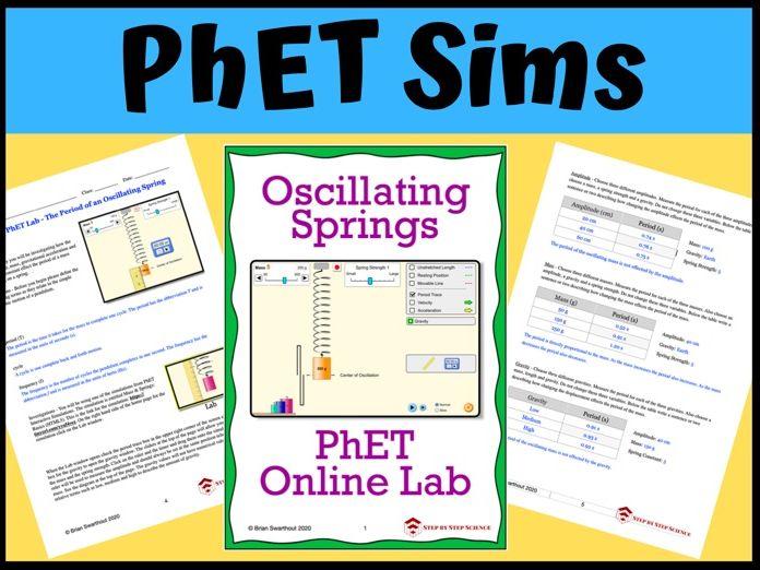 PhET Simulation: Oscillating Springs