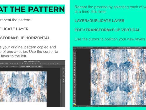 Photoshop Repeat Pattern Tutorial