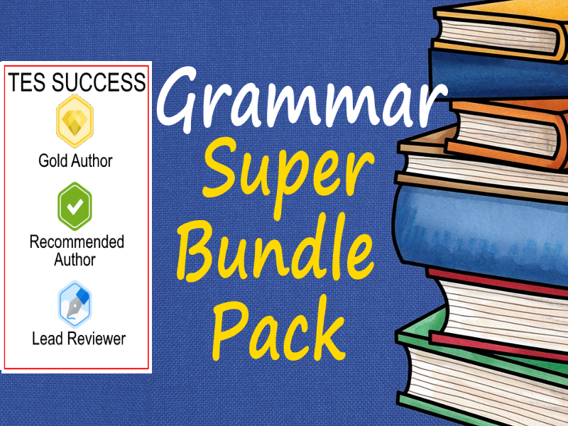 Grammar Bundle - Part 1