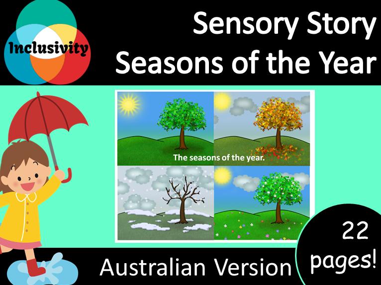 Sensory Story; Seasons of the Year - Australian Version