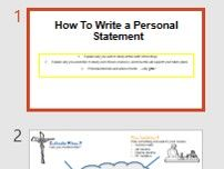 How to write a Post 16 Personal Statement