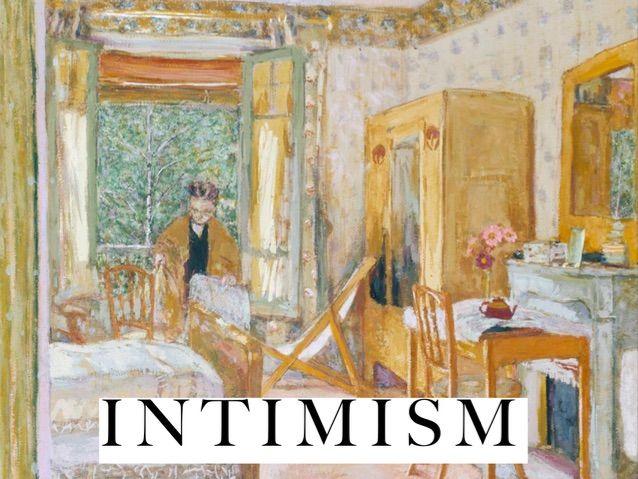 Intimism - Art History, Slide Show GCSE/A-Level