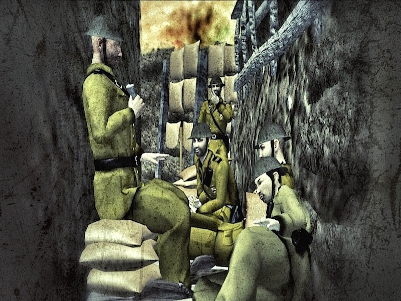 WW1 Life in the Trenches - Comic Book