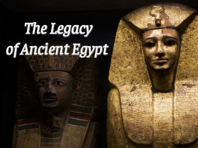 The Legacy of Ancient Egypt Audiobook & Activity