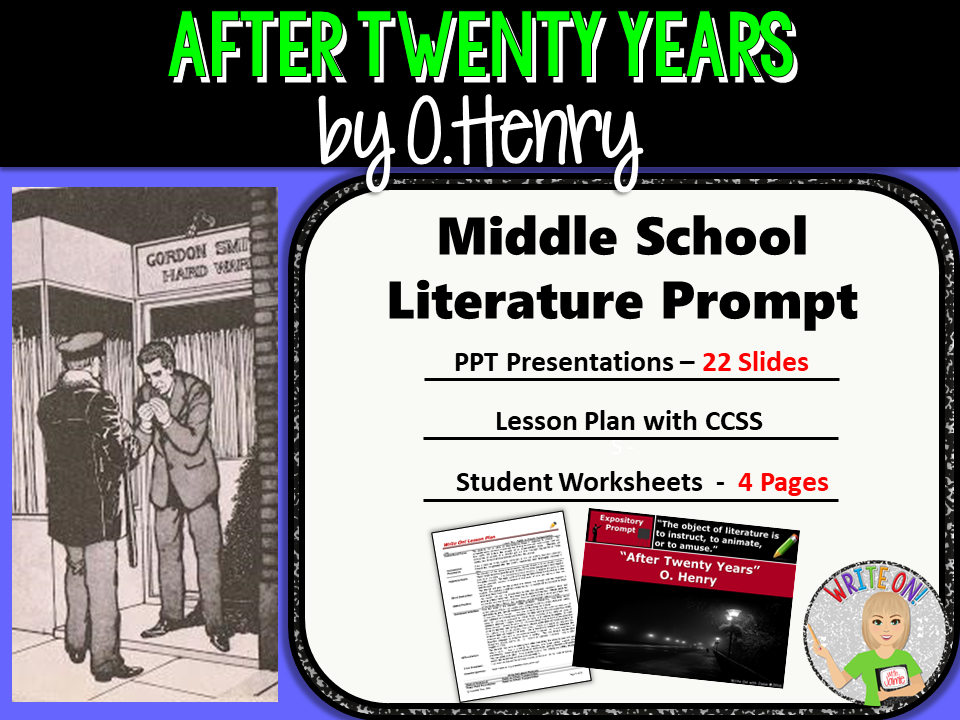after twenty years by o henry summary After twenty years by o henry the policeman on the beat moved up the avenue impressively the impressiveness was habitual and not for show, for spectators were few.