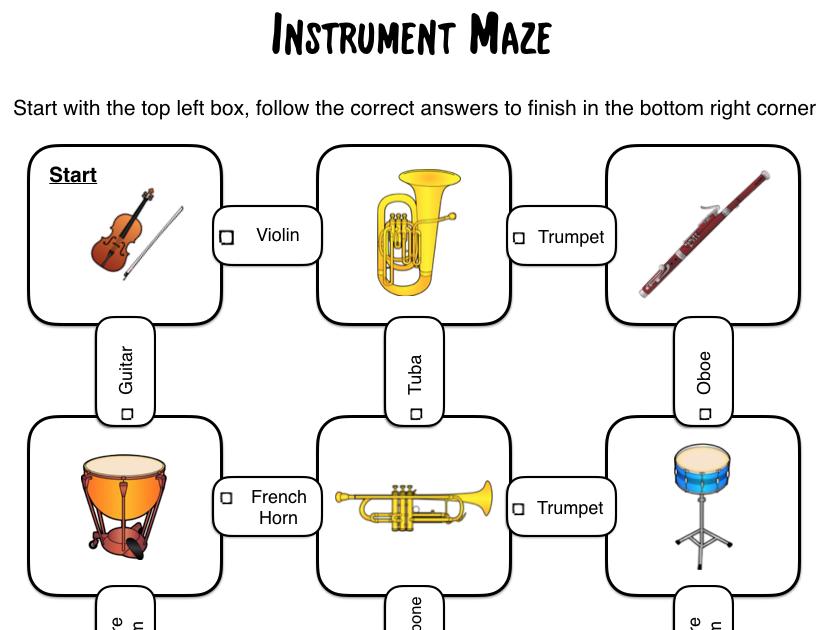 Instrument Mazes