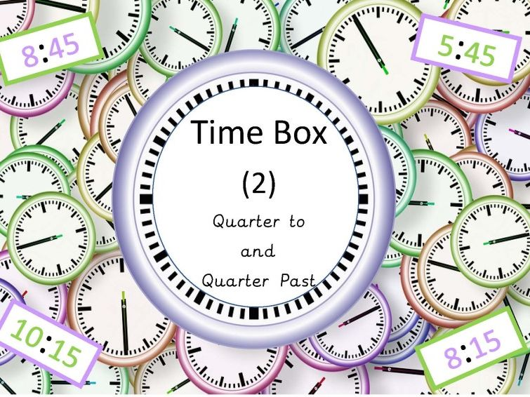 Time Bundle (Quarter to and Quarter Past)