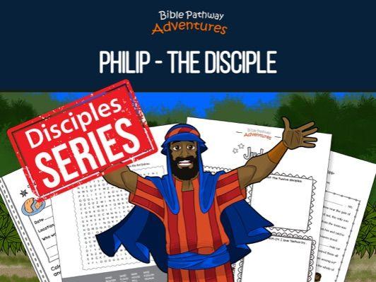 Philip: The Disciple Activity Book