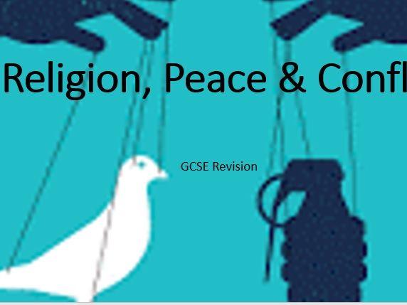 AQA Religious Studies Religion, Peace & Conflict