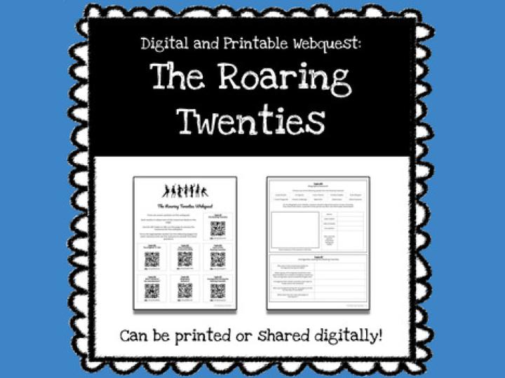 The Roaring Twenties Webquest