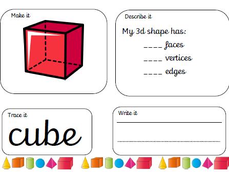 3D shape mats