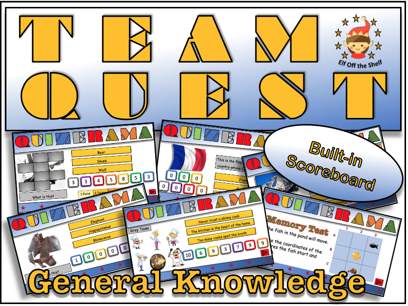 Back to School/End of Year Team Building Quiz