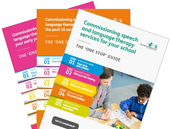 Commissioning speech and language therapy services in schools, early years and FE settings