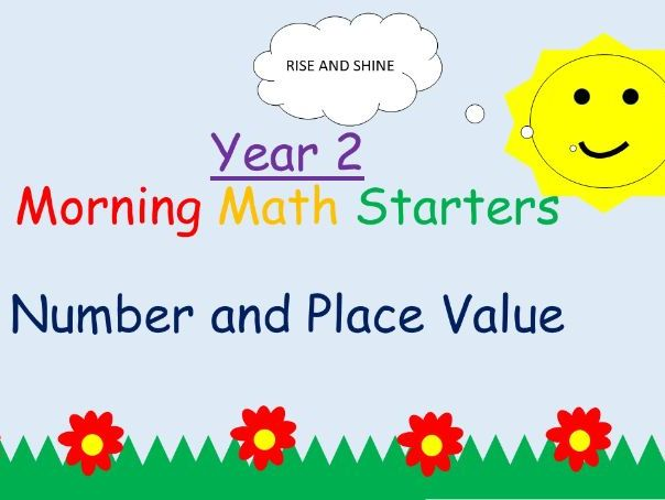 Year 2: Morning Starters - Place Value and Number