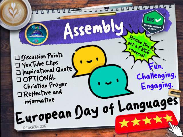 Assembly : European Day of Languages Assembly
