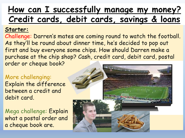 Personal Finance: Credit cards