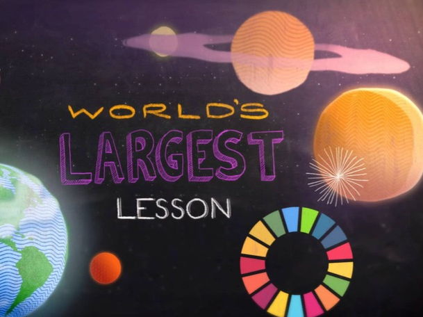 The World´s Largest Lesson Part 1