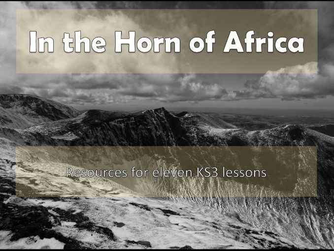 In the Horn of Africa Scheme of Work