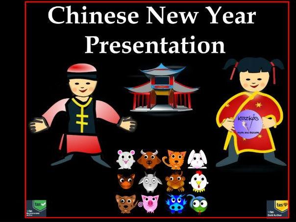 Chinese New Year 2018 Presentation by Krazikas   Teaching