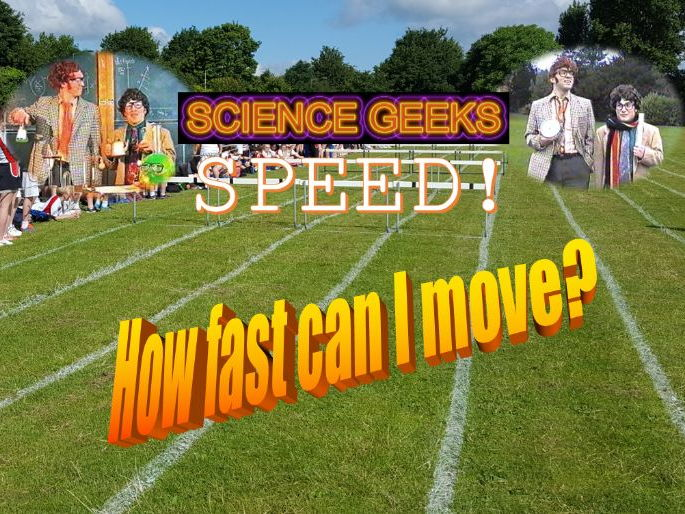 SPEED and VELOCITY - THE PRESENTATION!