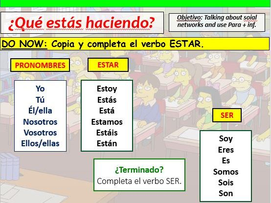 COMPLETE VIVA GCSE FOUNDATION module 3 unit 2 - QUÉ ESTÁS HACIENDO? pptx
