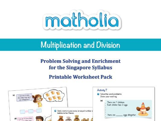 Matholia Problem Solving and Enrichment Year 1 - Multiplication and Division