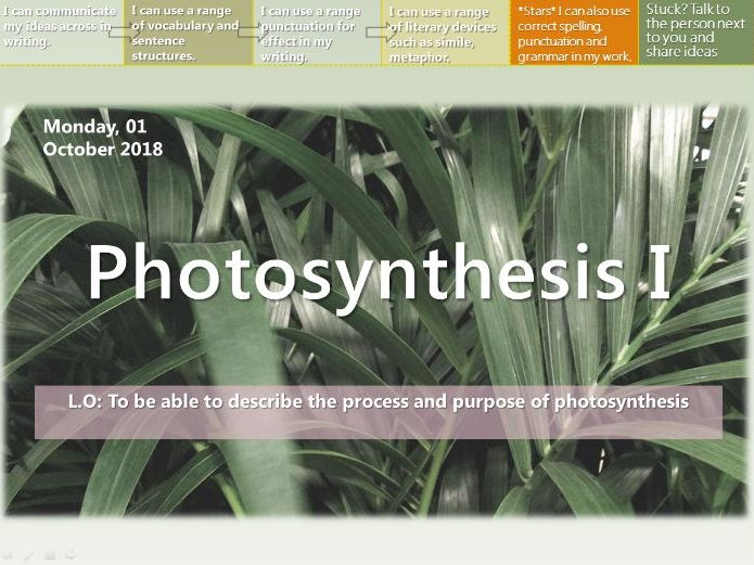 EDEXCEL ELC Further Science B3 - Plants & Ecosystems (Whole Unit!)