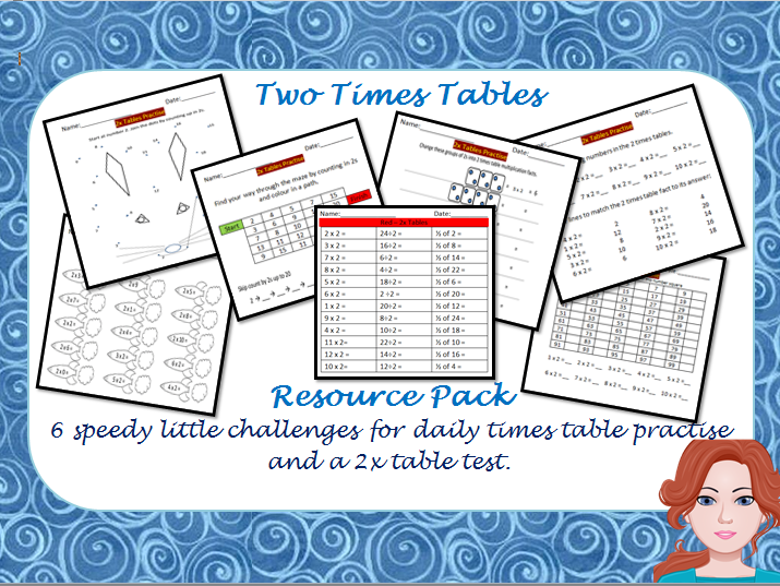 Two Times Tables Practise