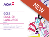 New Exam from 2017 AQA Language Workbooks, Activities & Mock Papers Questions Language, Structure & Creative Writing