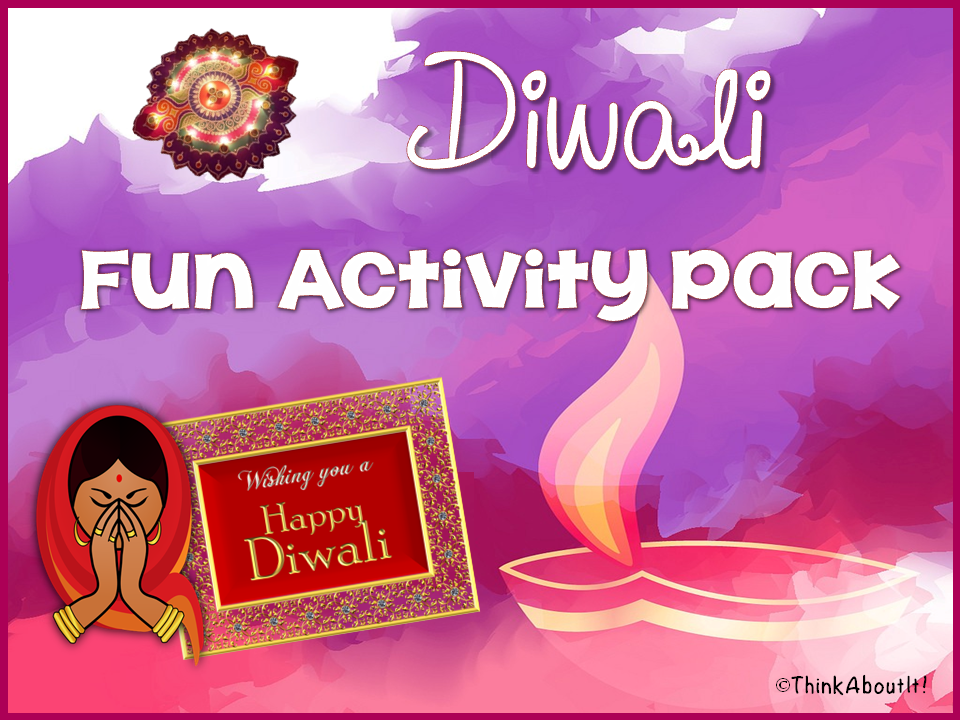 Hinduism: Diwali Fun Activity Pack