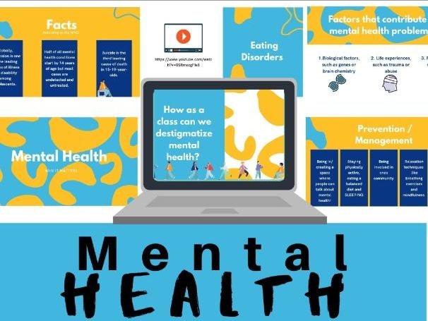Mental Health: PPT w/ Video Links