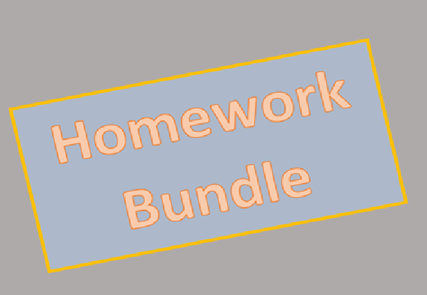Year 1,2 & 3 Homework
