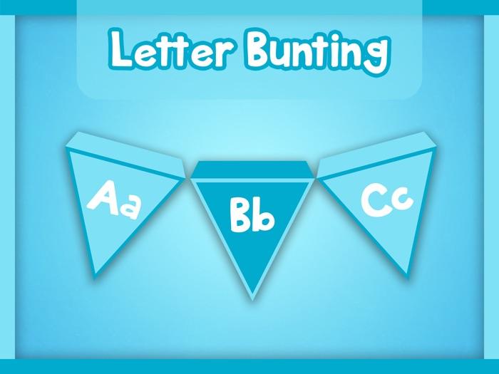 Alphabet Letter Bunting