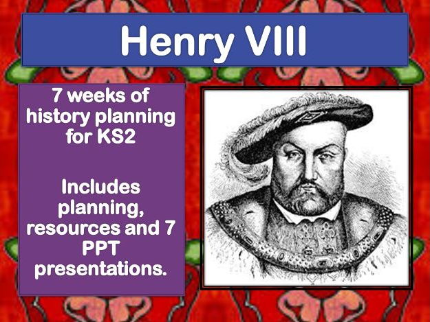 Tudor History -Complete Scheme of Work