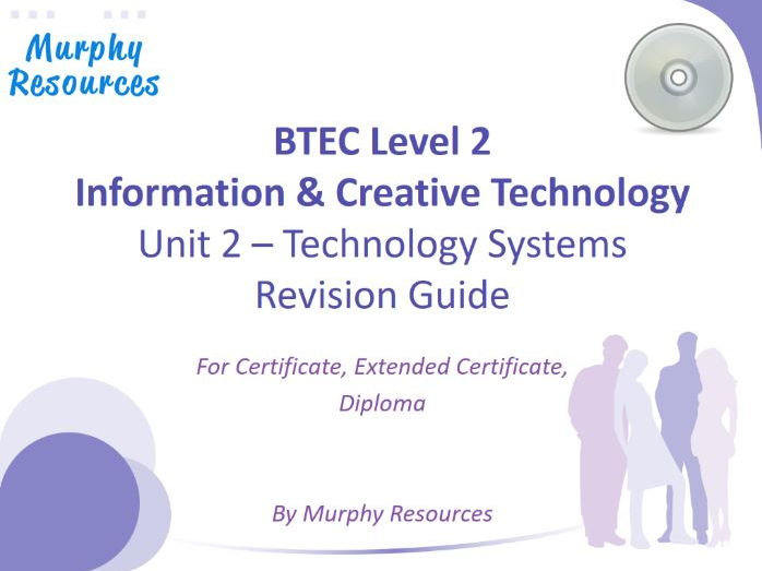 BTEC Level 2 Information & Creative Technology - Unit 2 (Sample)