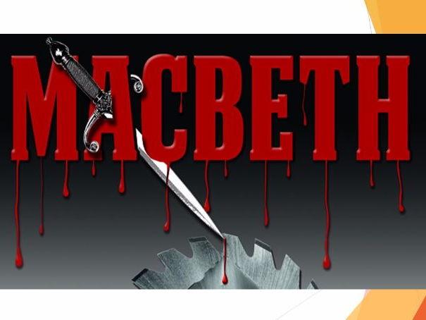 AQA Macbeth Revision Notes