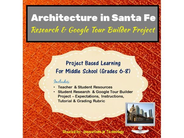 Google Tour Builder - Explore the Architectural Landmarks of Santa Fe