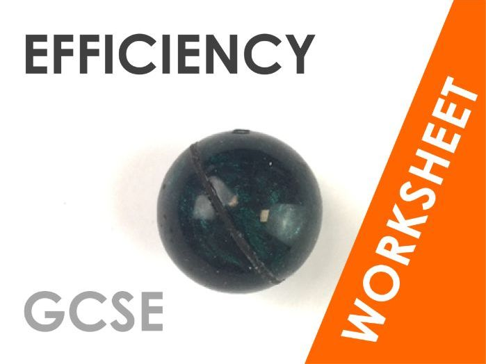 Conservation and Efficiency - Worksheet
