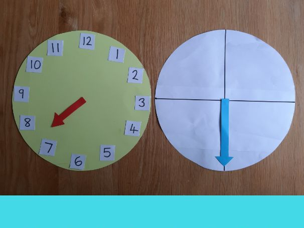 Video: Telling the time in analogue (part 2) o'clock, half past, quarter past, quarter to