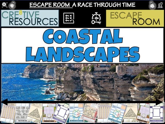 Coastal Landscapes - Geography Escape Room