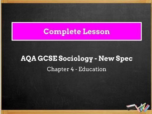Lesson 14 - Ethnicity and Achievement