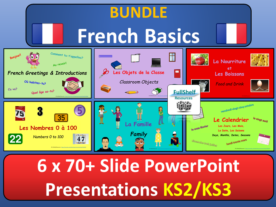 French Lesson Presentations