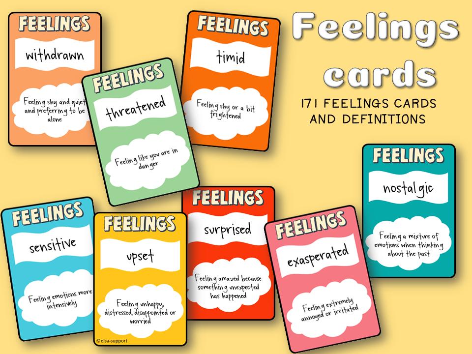 Feelings cards