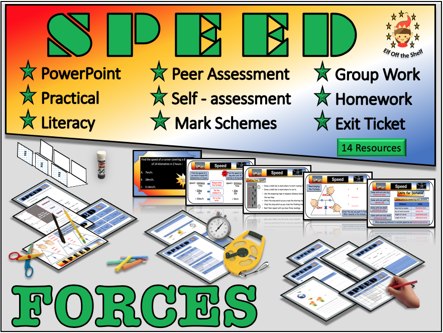 Forces - Speed KS3