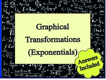 Graphical Transformations - Exponentials